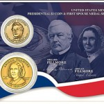 US Mint Offers Presidential $1 Coin & First Spouse Medal for Millard Fillmore