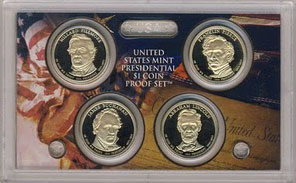 Presidential Dollar Set