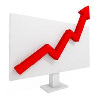 price jump chart