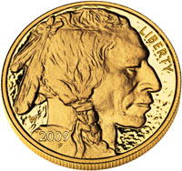 2009 Proof American Gold Buffalo