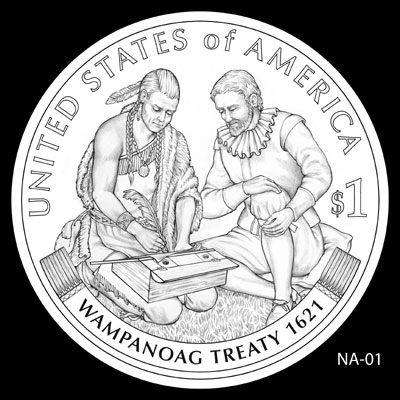 2011 Native American Dollar Design NA-01