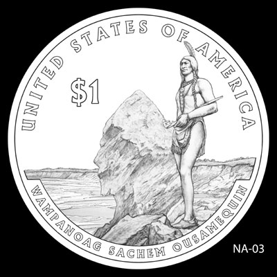 2011 Native American Dollar Design NA-03
