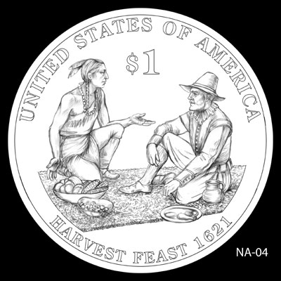 2011 Native American Dollar Design NA-04