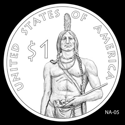 2011 Native American Dollar Design NA-05