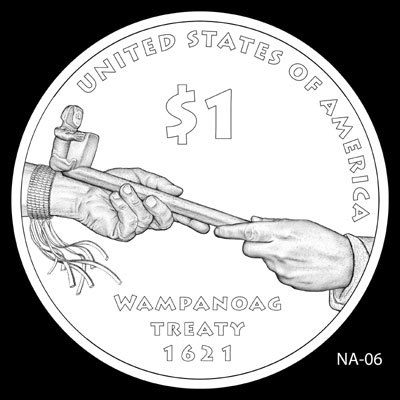 2011 Native American Dollar Design NA-06