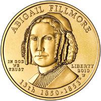 Abigail Fillmore Gold Coin