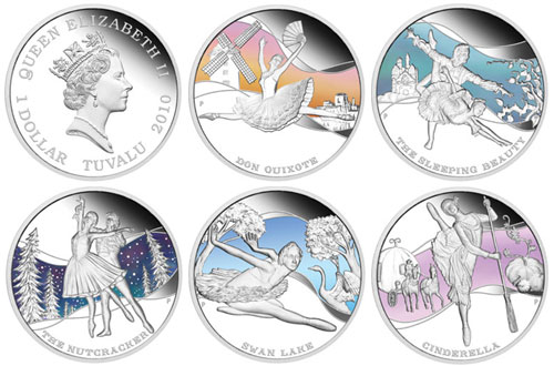 Perth Mint Ballet Silver Coins