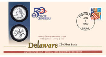 Delaware First Day Cover