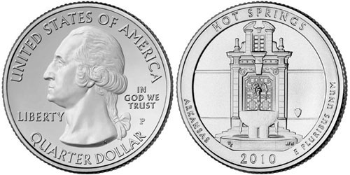 Hot Springs National Park Quarter - United States Mint Image