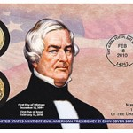 Millard Fillmore Presidential Dollar Coin Cover on Sale