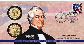 Millard Fillmore Coin Cover