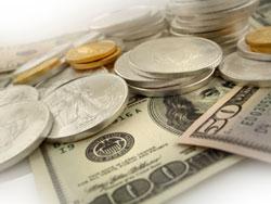 gold-silver-dollar