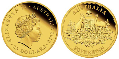 2010 Australian Gold Sovereign