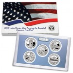 US Mint Releases 2010 America the Beautiful Quarters Proof Set