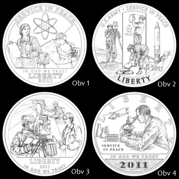 Design Candidates for Half Dollar Obverse