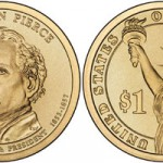 US Mint Launches Franklin Pierce Dollar, Offers 25-Coin Rolls