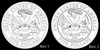 Other Design Candidates for Gold Coin Reverse
