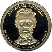 Lincoln Presidential Dollar