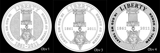 Other Design Candidates for Gold Coin Obverse