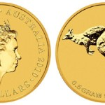 "Perth Mint Introduces ""Mini Roo"" 0.5 Gram Gold Coin"