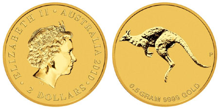 Mini Roo Gold Coin