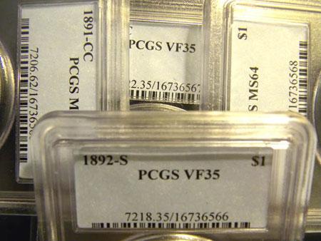PCGS-holders