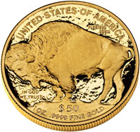Proof Gold Buffalo