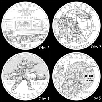 Other Design Candidates for Silver Dollar Obverse