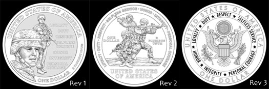 Other Design Candidates for Silver Dollar Reverse
