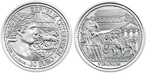 Virunum-Silver-Coin