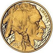 2010 Proof Gold Buffalo