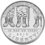 US Mint Sales: American Veterans Disabled for Life Silver Dollars Rise