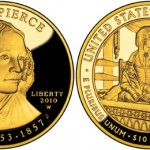 2010 Jane Pierce First Spouse Gold Coins on Sale