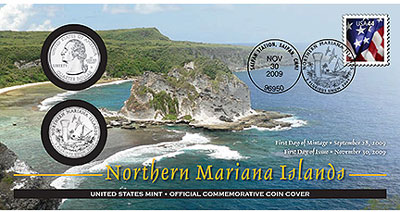 Northern Mariana Islands Coin Cover