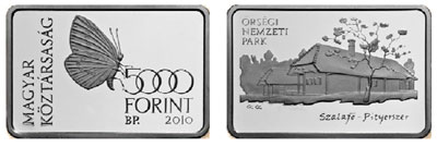 Orsegi National Park Coin