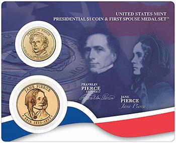 Franklin and Jane Pierce Set
