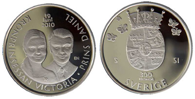 Royal Wedding Sweden Coins