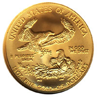 Fractional Gold Eagle