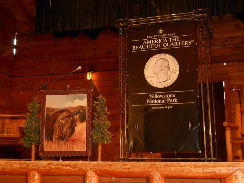 Yellowstone National Park Quarter Launch Ceremony
