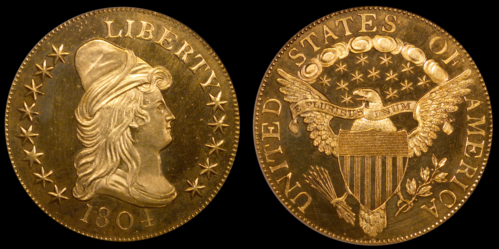 1804 Gold Eagle NGC PF65 Ultra Cameo (Photo: Numismatic Guaranty Corporation)