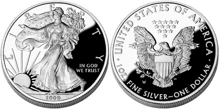 2009 Proof Silver Eagle (not issued)