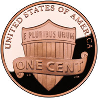 2010 Proof Lincoln Cent