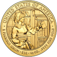 Abigail Fillmore Gold Coin