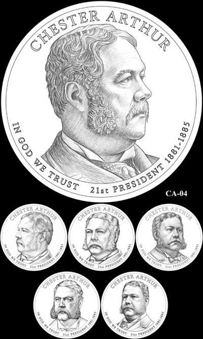 Chester A. Arthur Presidential Dollar