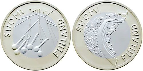 Finland Provinces 5 Euro Coins