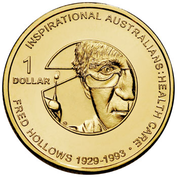 Fred Hollows $1 Coin
