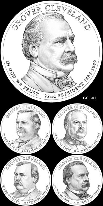 Grover Cleveland Presidential Dollar