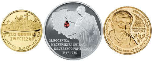 Jerzy Popieluszko Coins