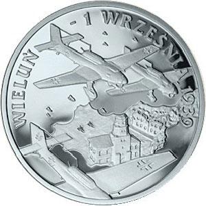 September 1939 - Wieluń 10 zł