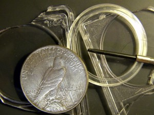 Peace Dollar broken out of PCGS holder